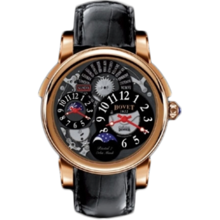Часы Bovet Dimier Recital 7 Orbis Mundi Moon Phase R7 RG