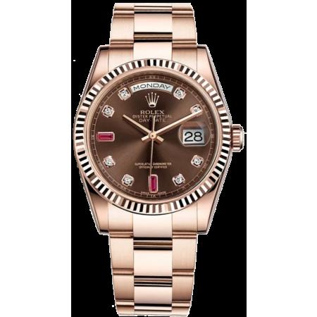 Часы Rolex Day-Date 36mm Everose Gold 118235-0096