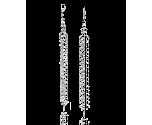 YANA Серьги Majestic с бриллиантами огранки Бриолет