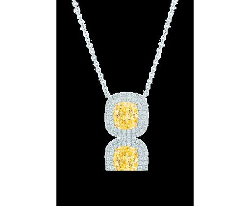 TIFFANY SOLESTE Подвеска с желтым бриллиантом