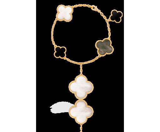 Van Cleef & Arpels Браслет Magic Alhambra, 5 мотивов