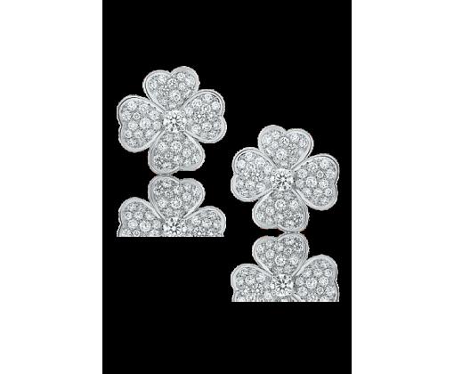 Van Cleef & Arpels Серьги Cosmos, маленькая модель