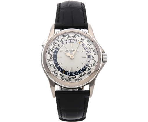 Patek Philippe World Time White Gold Discontinued 5110G-001