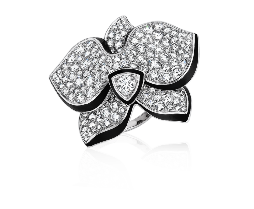 Cartier кольцо Caresse d'Orchidées N4228553