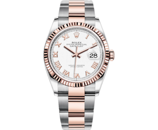 Rolex Datejust 36mm Steel and Everose Gold 116231 wro