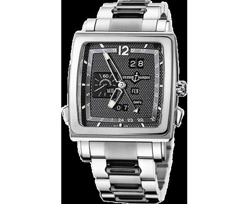 Ulysse Nardin Classic Quadrato Dual Time Perpetual 320-90-8M/69