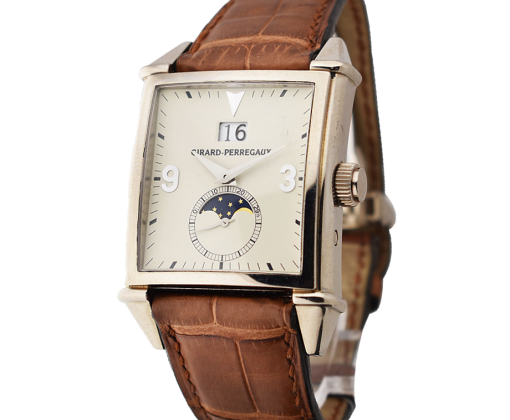 Girard-Perregaux Vintage 1945 King Size Large Date Moon Phases 25800-53-851-BA6A