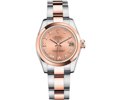 Rolex  Lady-Datejust 26mm Steel and Everose Gold 179161