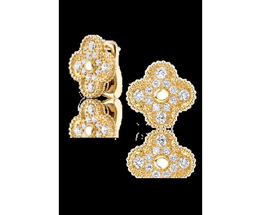 Van Cleef & Arpels Серьги Vintage Alhambra