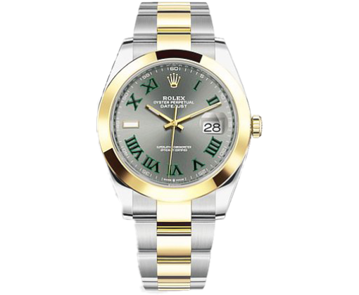 ROLEX OYSTER DATEJUST 41MM STEEL AND YELLOW GOLD