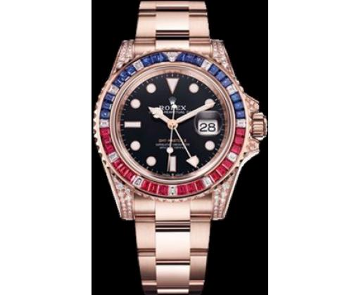 Rolex GMT Master II 40mm Everose Gold 126755SARU