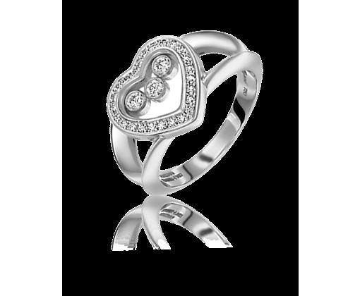 Chopard Happy Diamonds Heart кольцо 824502-1110