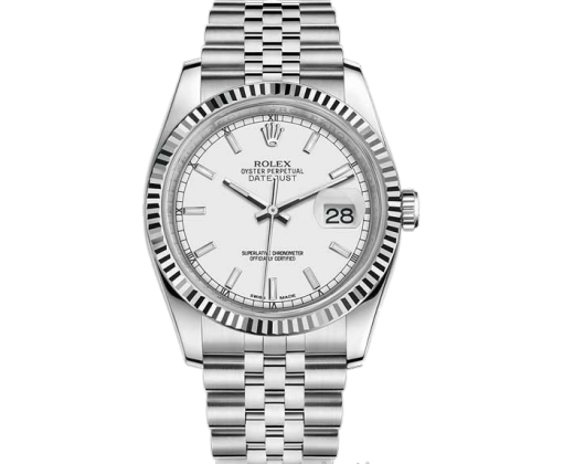 Rolex Datejust 36mm Steel and White Gold 116234-0088