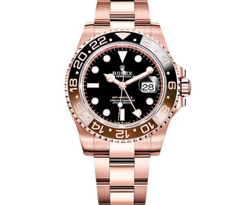 ROLEX GMT-MASTER II 40 MM, EVEROSE GOLD