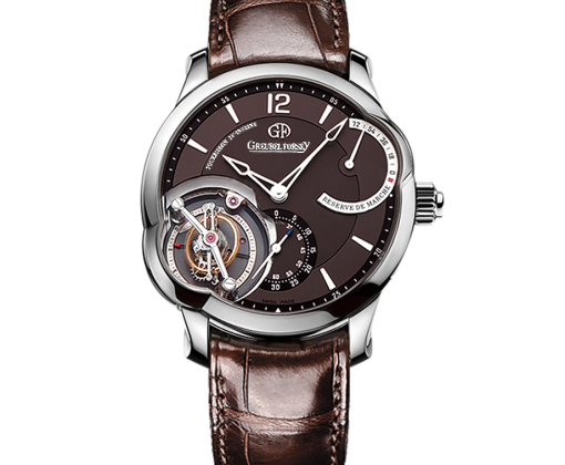 GREUBEL FORSEY T-24SI-N.74 WG-BROWN  Tourbillon 24 Secondes EXECUTION SPECIALE