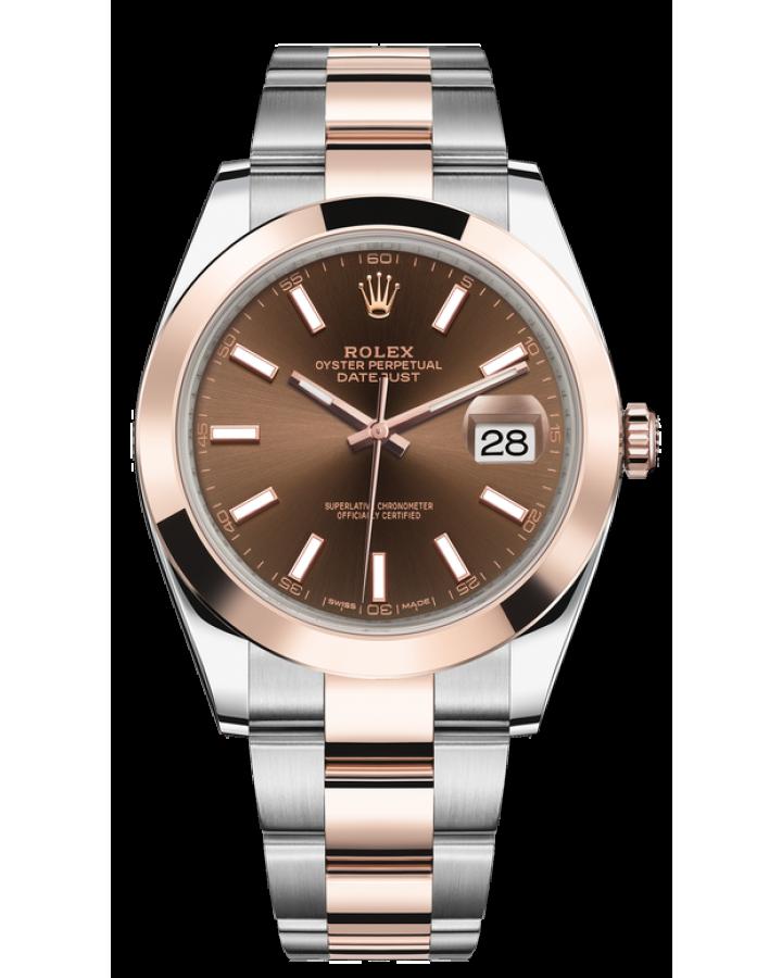 Часы Rolex DATEJUST 41MM STEEL AND EVEROSE GOLD