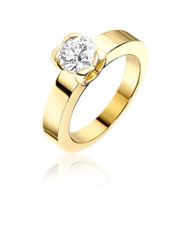 Кольцо с бриллиантом Chopard FOR LOVE КОЛЬЦО 823489 0 181 С БРИЛЛИАНТОМ 1 04 ct F VS1