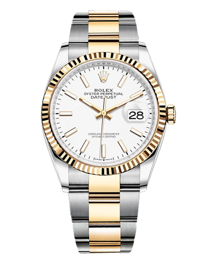 Часы Rolex DATEJUST 36 MM OYSTERSTEEL AND YELLOW GOLD