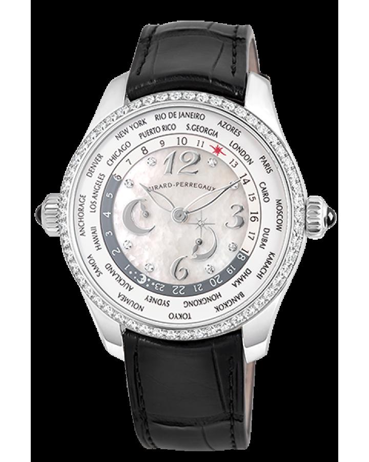 Часы Girard Perregaux ww tc Lady 49860D11A761 BK7A