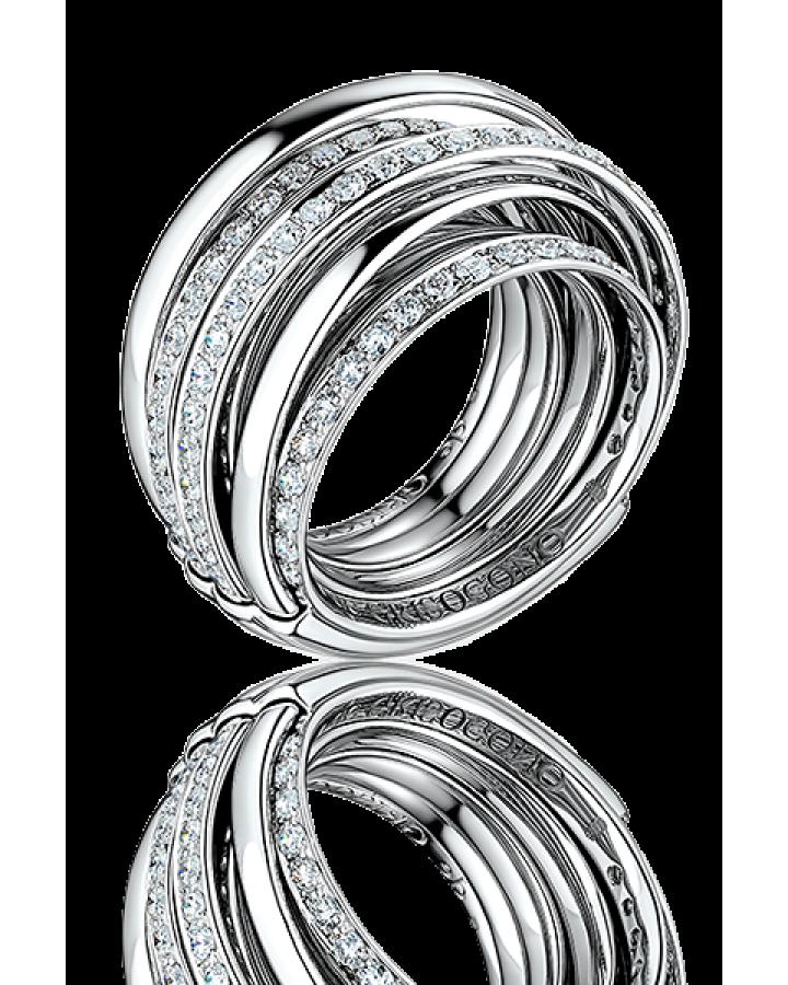 Кольцо с бриллиантом De Grisogono ALLEGRA WHITE GOLD & DIAMOND RING
