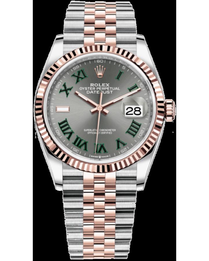 Часы Rolex Datejust 36mm Steel and Everose Gold126231-0029