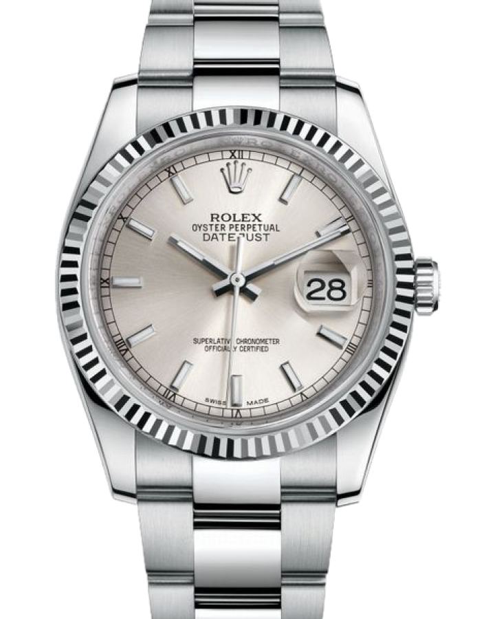 Часы Rolex Datejust 36mm Steel and White Gold116234
