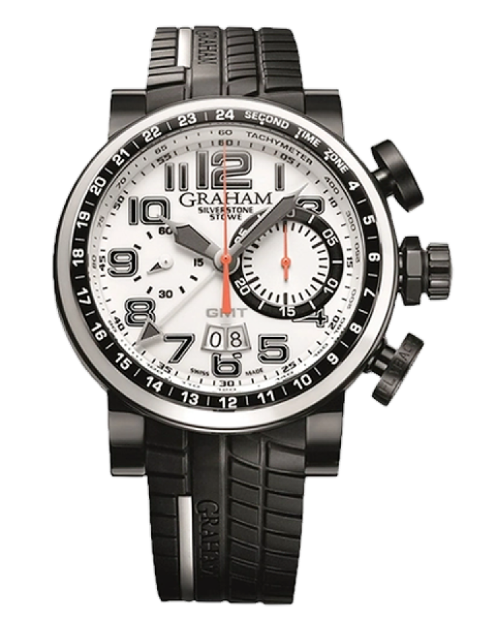 Часы Graham Silverstone Stowe GMT Tracklighted 2BLCD W04A