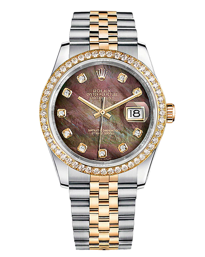 Часы Rolex DATEJUST 36mm Steel and Yellow Gold ТЮНИНГ