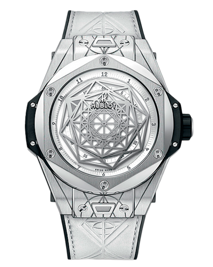 Часы Hublot BIG BANG SANG BLEU
