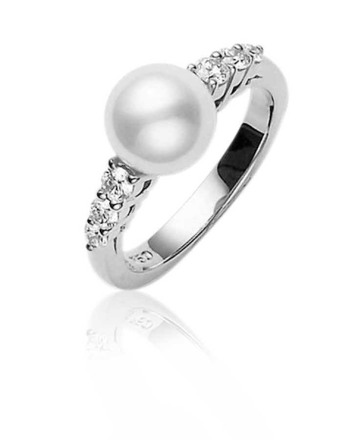 Кольцо Mikimoto  Classic PRH 5376 DW