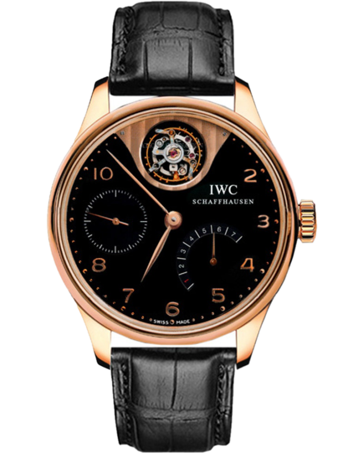 Часы IWC PORTUGUESE TOURBILLON MYSTERE LIMITED EDITION