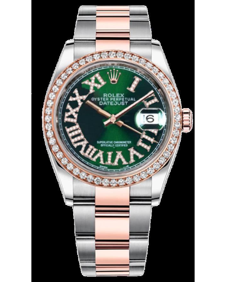 Часы Rolex Datejust Steel and Everose Gold ТЮНИНГ