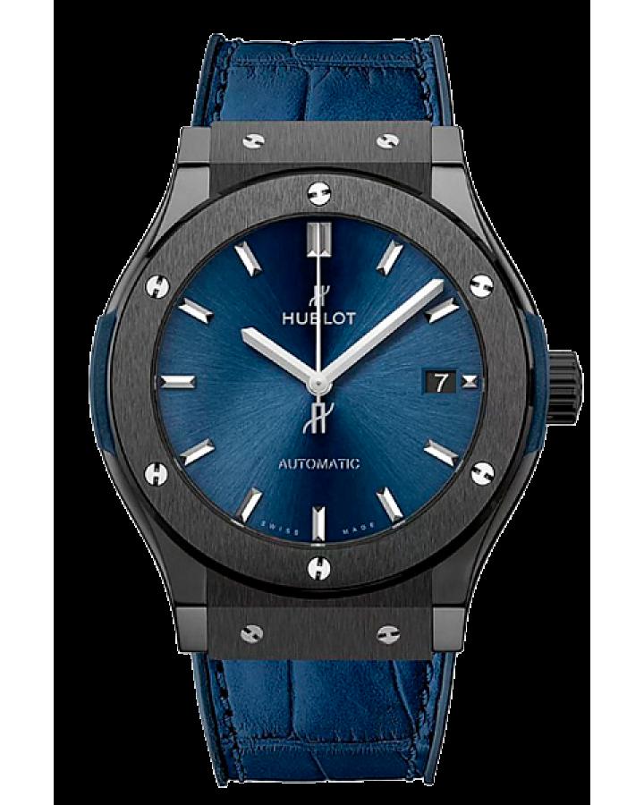 Часы Hublot CLASSIC FUSION CERAMIC BLUE 45 MM