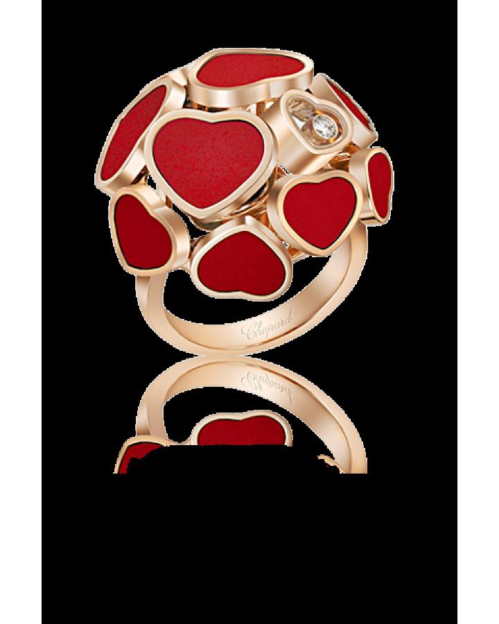 Кольцо Chopard  HAPPY HEARTS арт 827482 5800