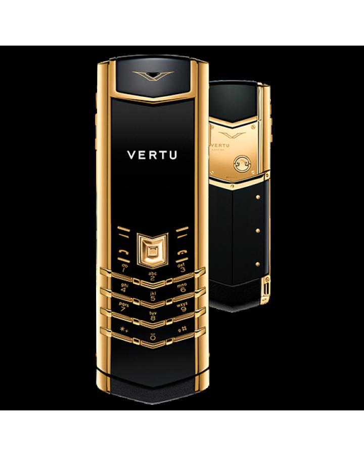 Телефон Vertu SIGNATURE S DESIGN 18-КАРАТНОЕ ЖЕЛТОЕ ЗОЛОТО