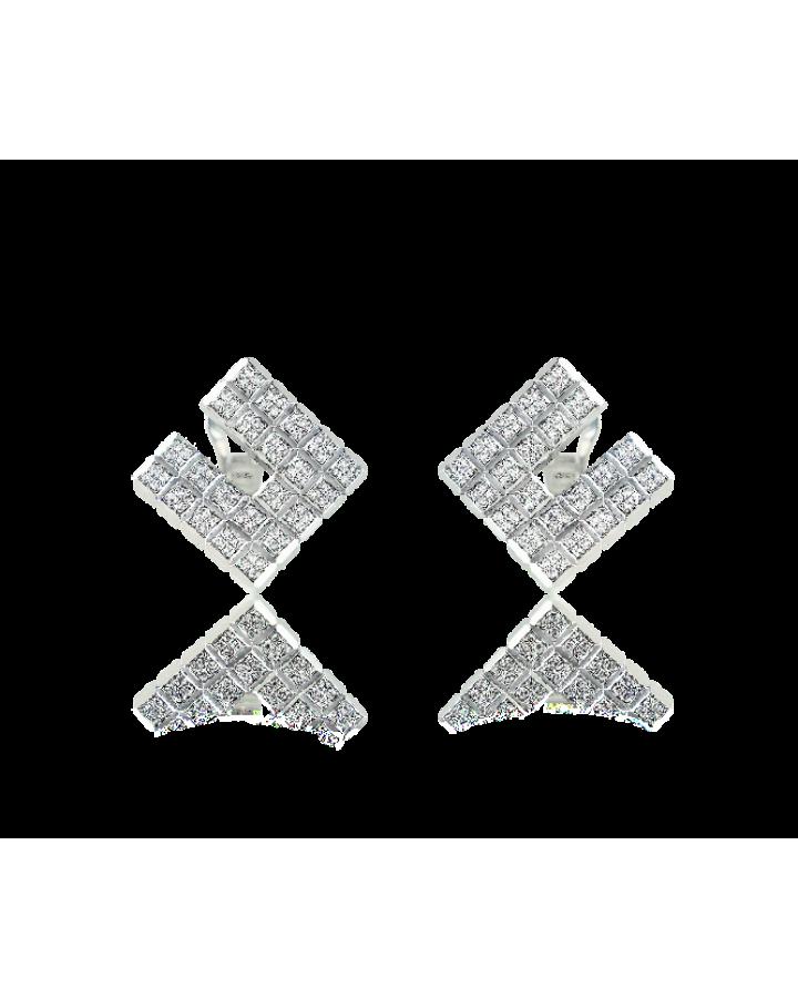 Серьги Chopard  Ice Cube Diamonds 844196-1001