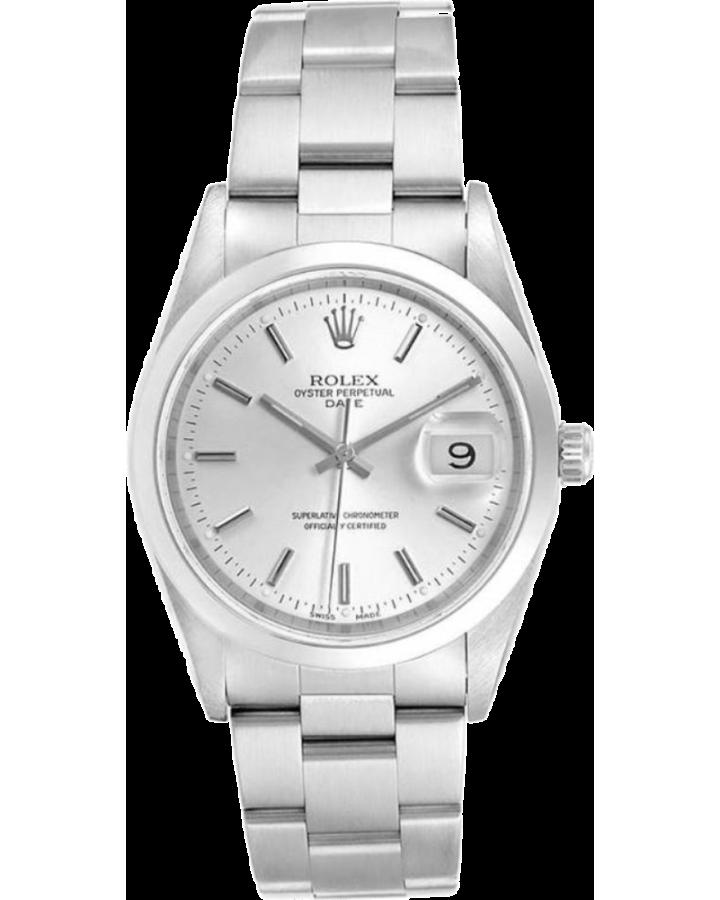 Часы Rolex  Oyster Perpetual Date 34mm Steel 15200