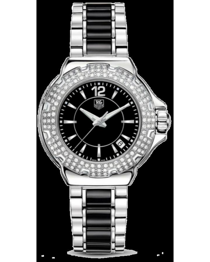 Часы TAG Heuer Formula 1 Steel and Ceramic Full Diamond 37 mmWAH1214.BA0859