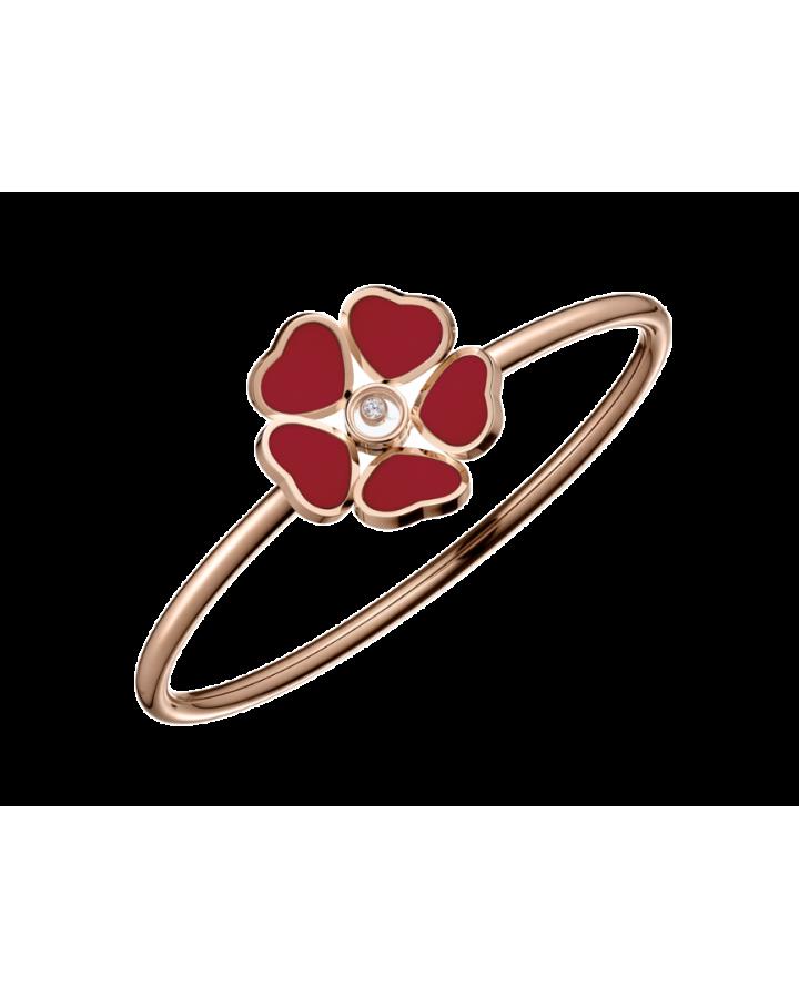 Браслет Chopard  Happy Diamonds Happy Hearts Flowers 85A085-5803