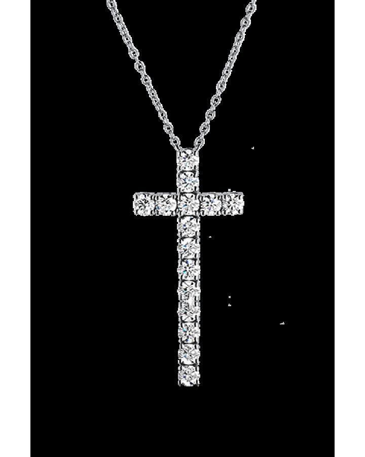 Крест Mercury ИК С БРИЛЛИАНТАМИ