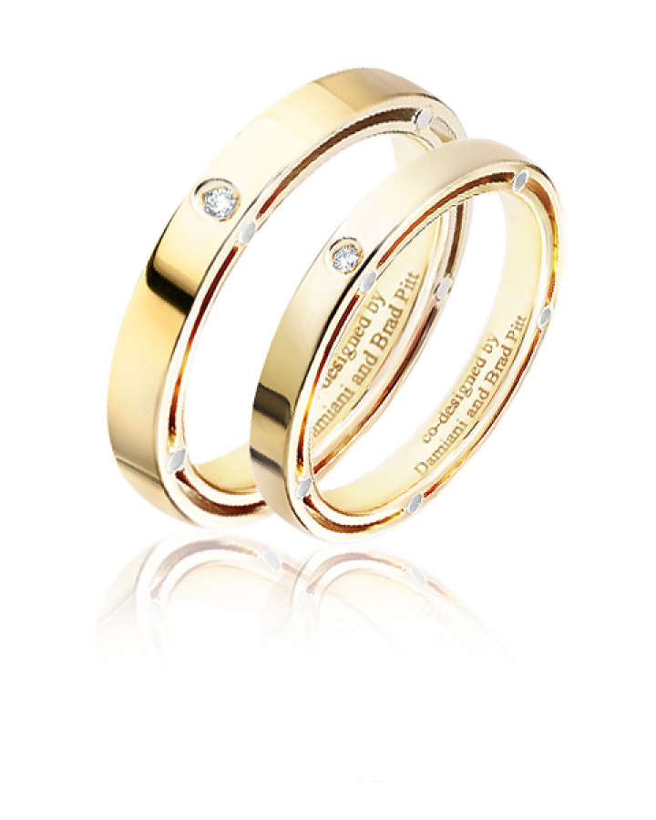 Кольцо Damiani D SIDE обручальные кольца Ref 20053335
