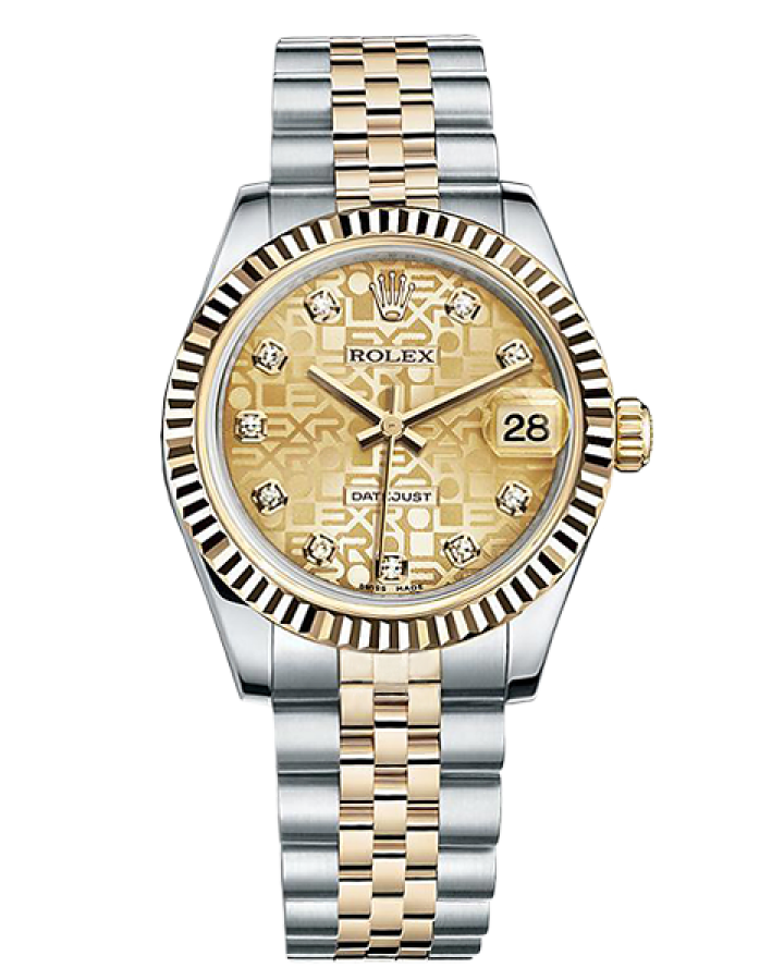 Часы Rolex DATEJUST 31 MM STEEL AND YELLOW GOLD