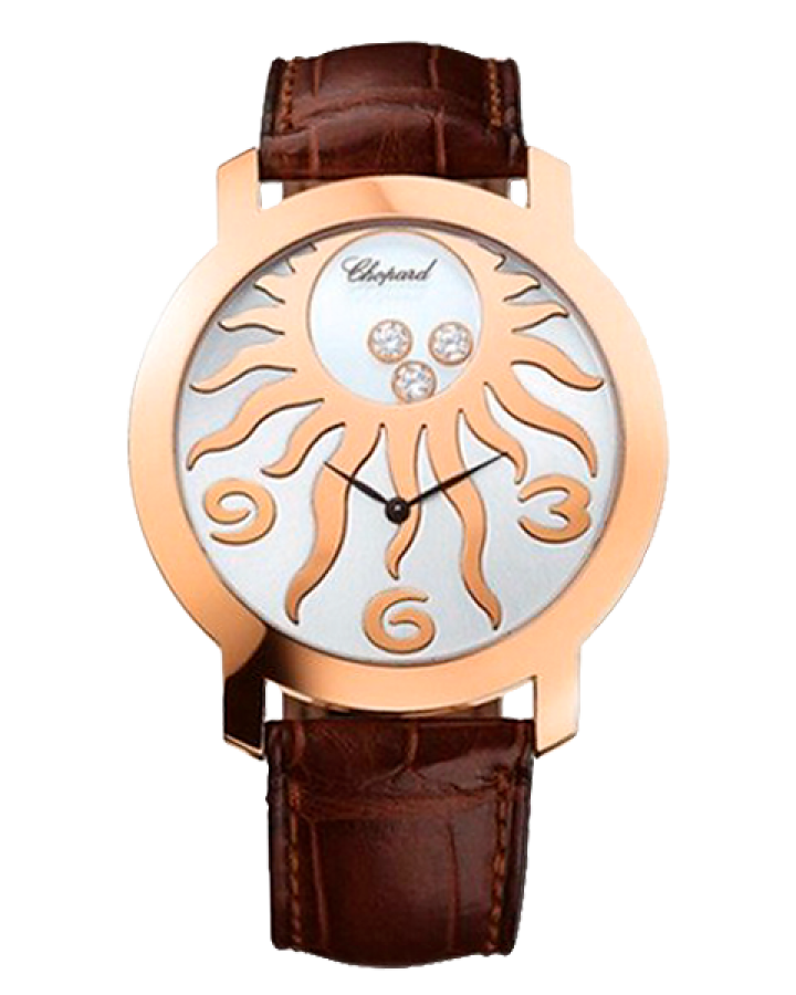 Часы Chopard Happy Diamonds Specials Round 3 Diamonds 207469-5002