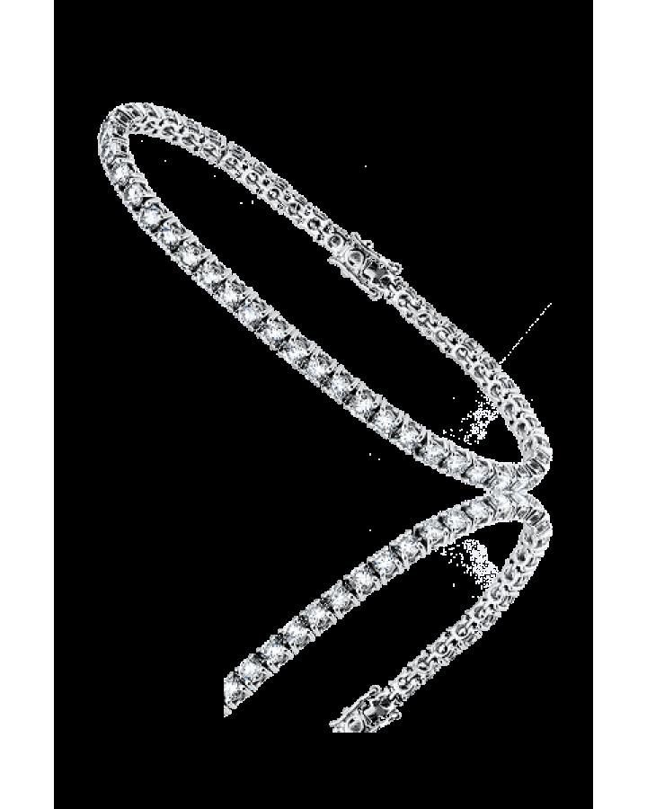 Браслет No name с бриллиантами 6 23 карат