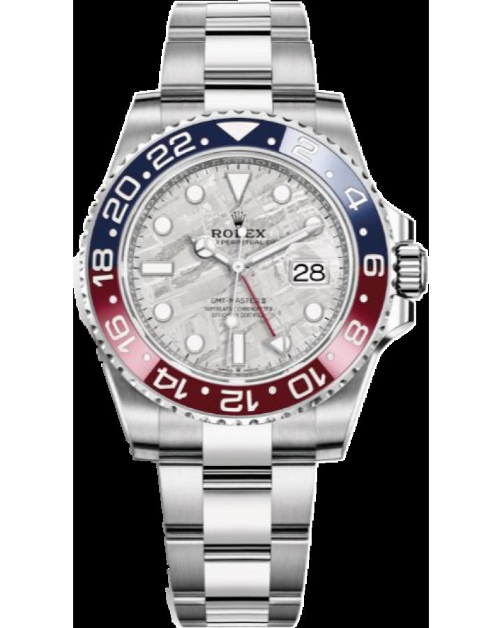 Часы Rolex GMT-MASTER II 40MM WHITE GOLD 126719BLRO-0002
