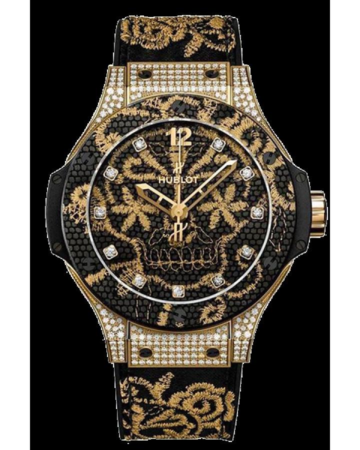 Часы Hublot BIG BANG BRODERIE YELLOW GOLD DIAMONDS