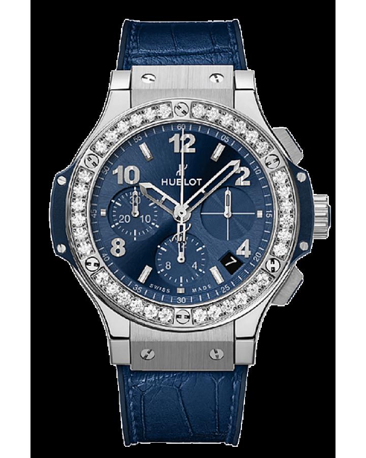 Часы Hublot  Big Bang Steel Blue Diamonds
