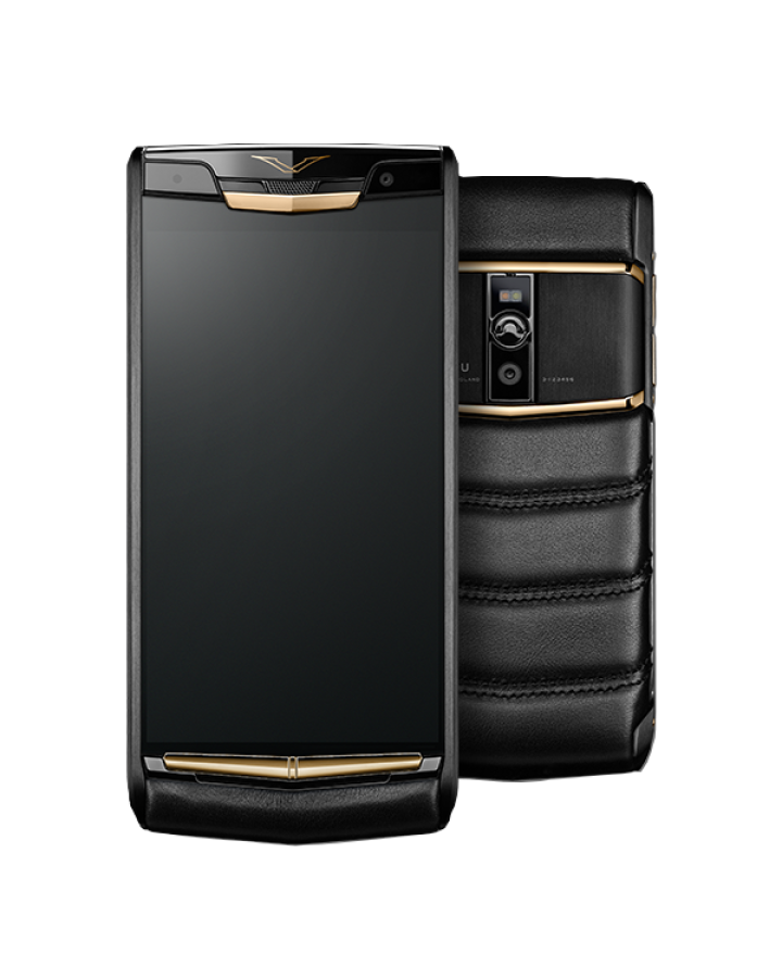 Vertu SIGNATURE TOUCH PURE JET RED GOLD