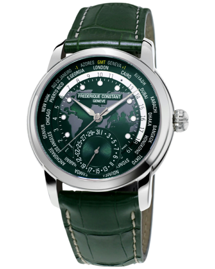 Часы Frederique Constant Classics Worldtimer FC 718GRWM4H6