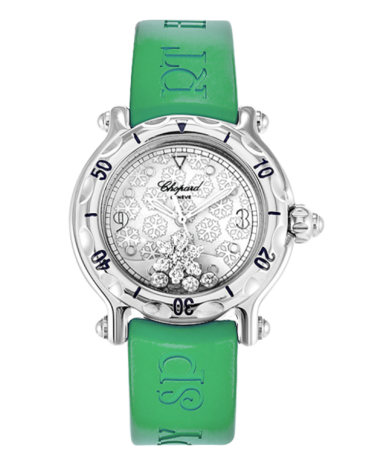 Часы Chopard HAPPY SPORT SNOWFLAKE